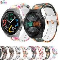 Cinturino Per huawei orologio gt 2e smartwatch cinghia 22 millimetri braccialetto in silicone GT2E di Ricambio Per Huami Amazfit GTR 47 millimetri/GT 2 46 MILLIMETRI
