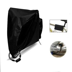 Image 2 - Wodoodporna rowerowa osłona przeciwdeszczowa przeciwkurzowa osłona rowerowa ochronna uv do roweru narzędzie rowerowe zewnętrzna osłona przeciwdeszczowa 4 rozmiar S/M/L/XL