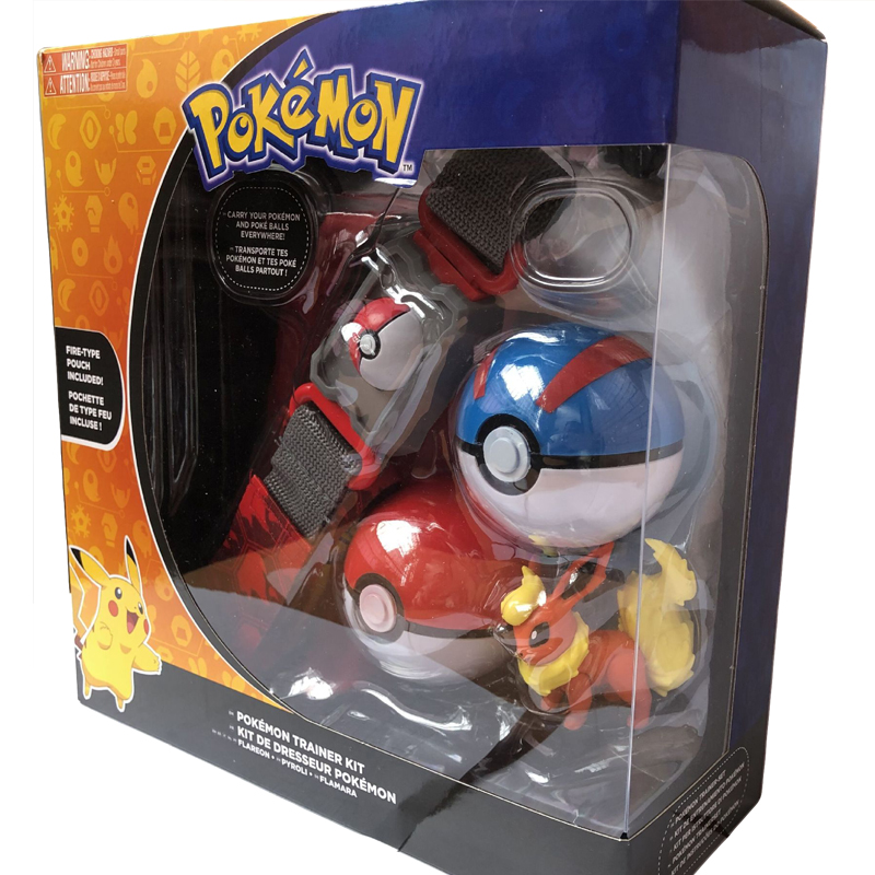Original Pokemon toys Pokeball With <font><b>Belt</b></font> Action Figure Model Toys Retractable <font><b>Belt</b></font> Gifts for Children Kids Toys in box image