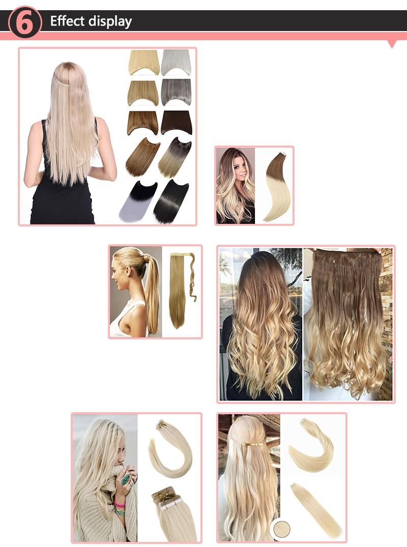 Новое поступление, 100 г, 9 шт., волосы, бразильские Виргинские remy, человеческие волосы, накладные Омбре