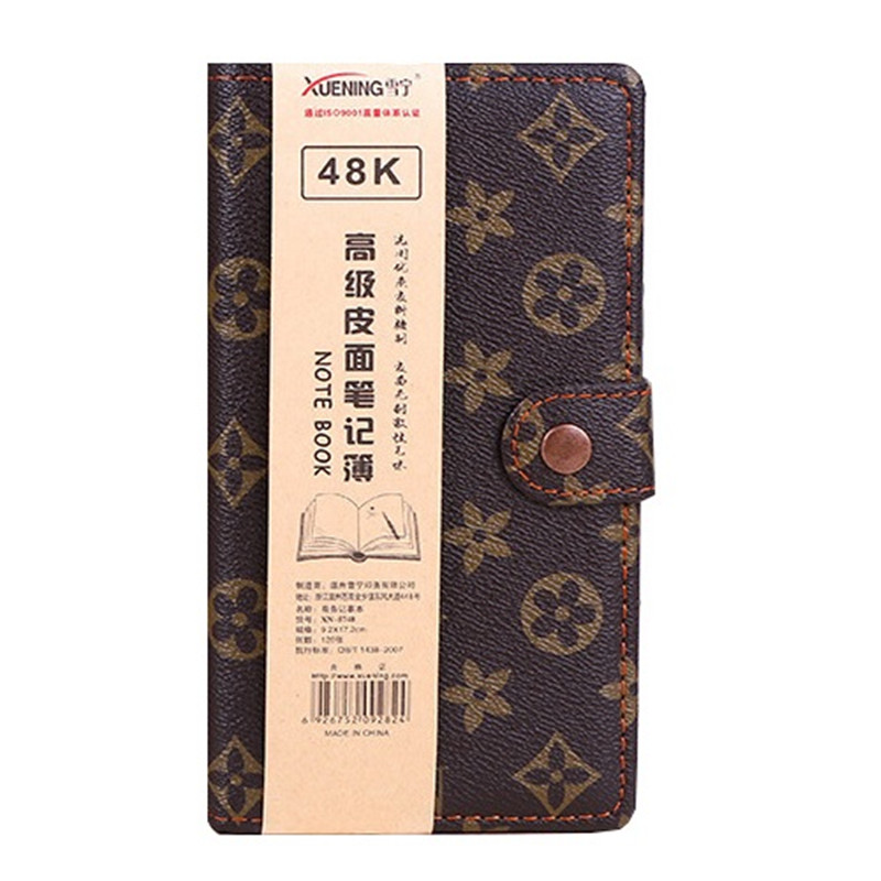 48K HEETON Luxury Classic Notebook A6 A5 B5 Hardcover Notebook Business Notepad 1PCS