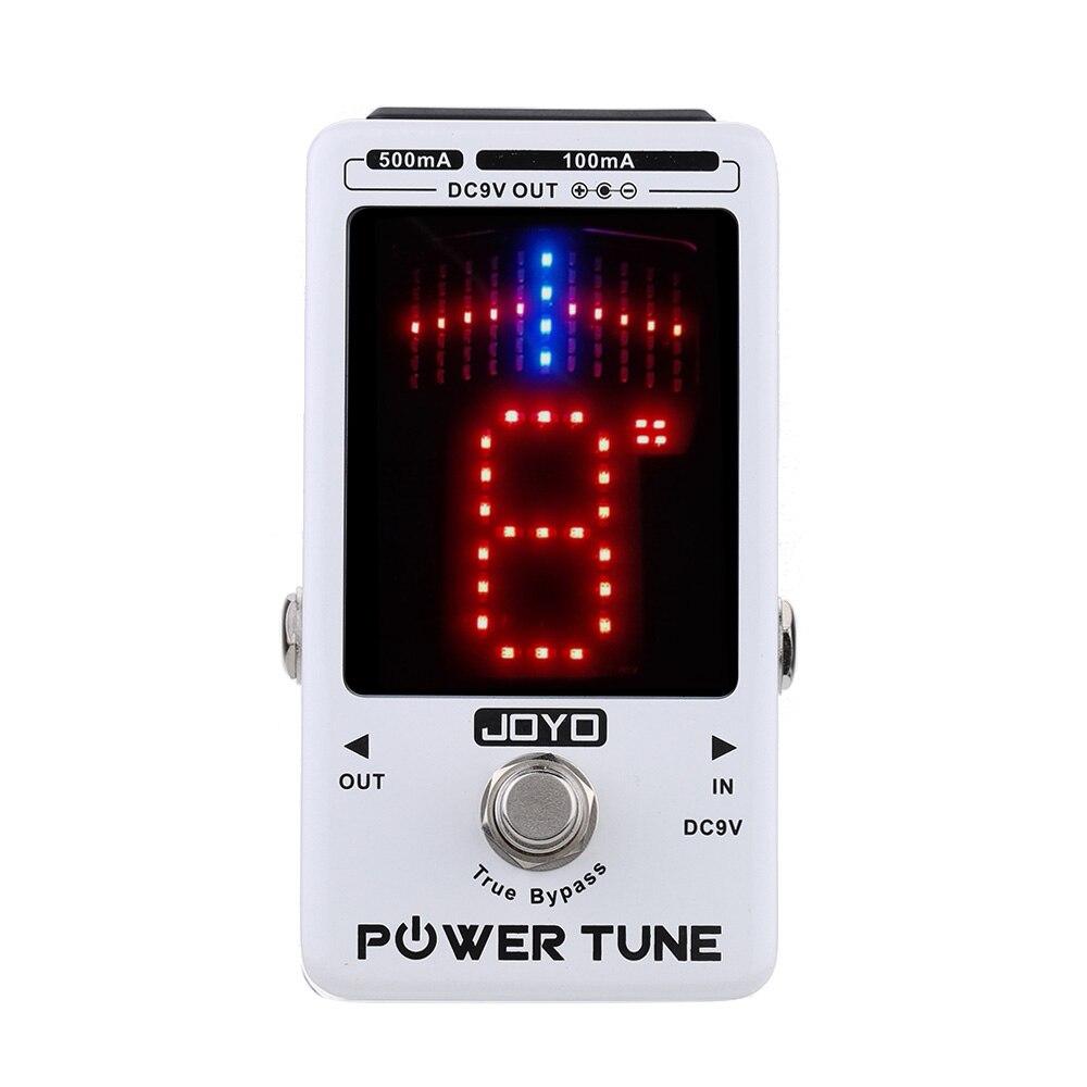 Accordeur de basse de guitare électrique de contournement véritable de puissance de JOYO et effet de fournisseur de multi-alimentation de 8 ports