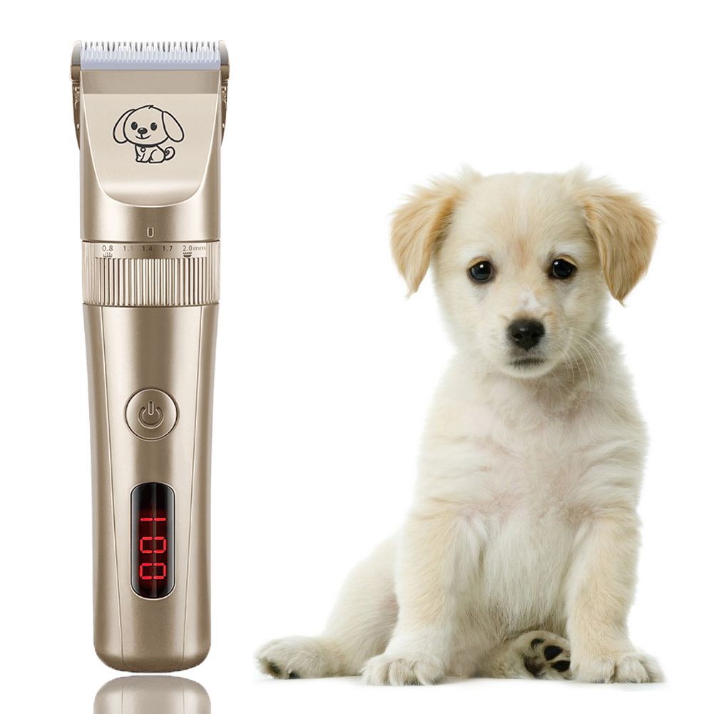 Pet Hair Clipper Electrical Hair Remover Cutter Grooming Cat Dog Hair Trimmer Electric Scissor Remover Haircut Machine
