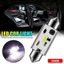 Auto parts Car ceiling light Interior 31MM/36MM/39MM/41MM Durable 3LED 6W Glass Lens Festoon Dome Reading Light CSV