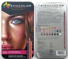 Prismacolor – crayon de dessin à l'huile, 24 couleurs de peau, Portrait, à gros noyau doux