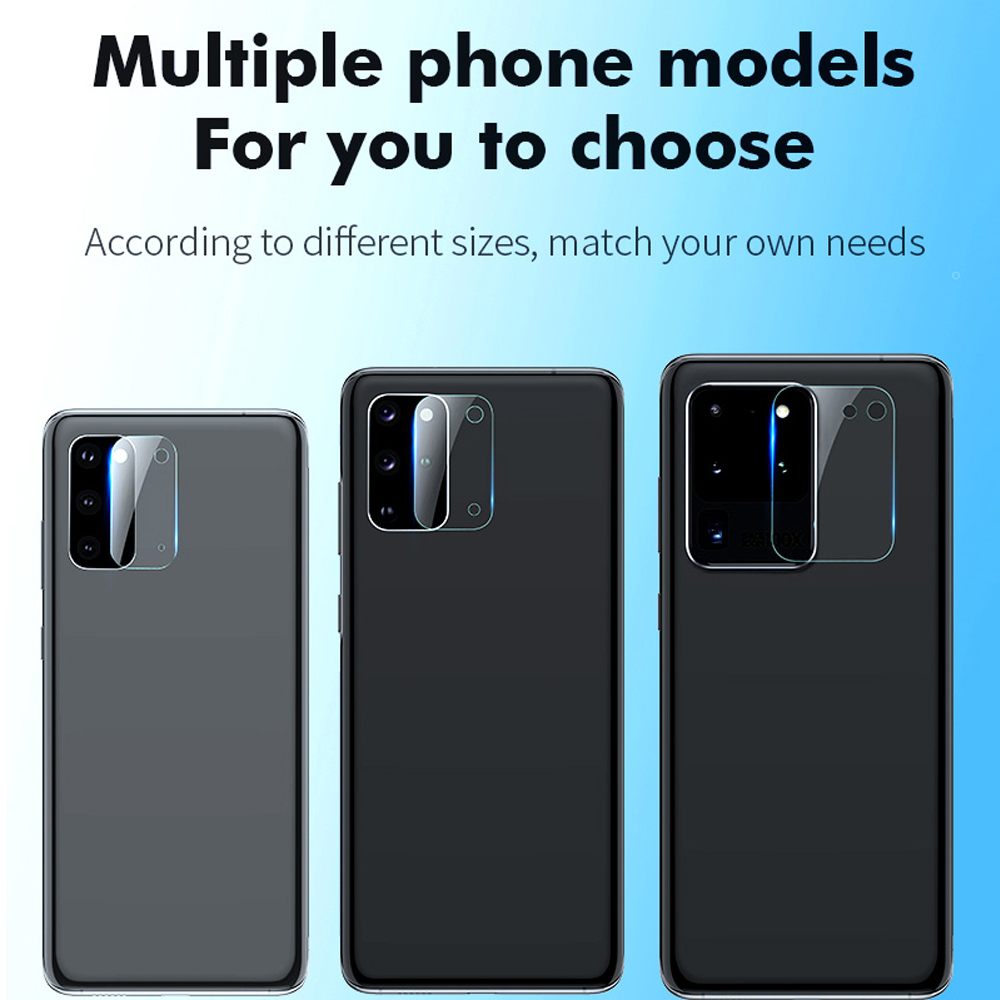 3Pcs Camera Lens for Samsung Galaxy S8 S9 S10E S10 lite plus S20 UItra protector Camera Tempered Glass phone screen protector