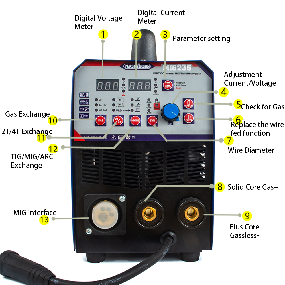 wiring up a 220v welding machine 3in1 combo tig mma mig welding machine multi function welding  3in1 combo tig mma mig welding