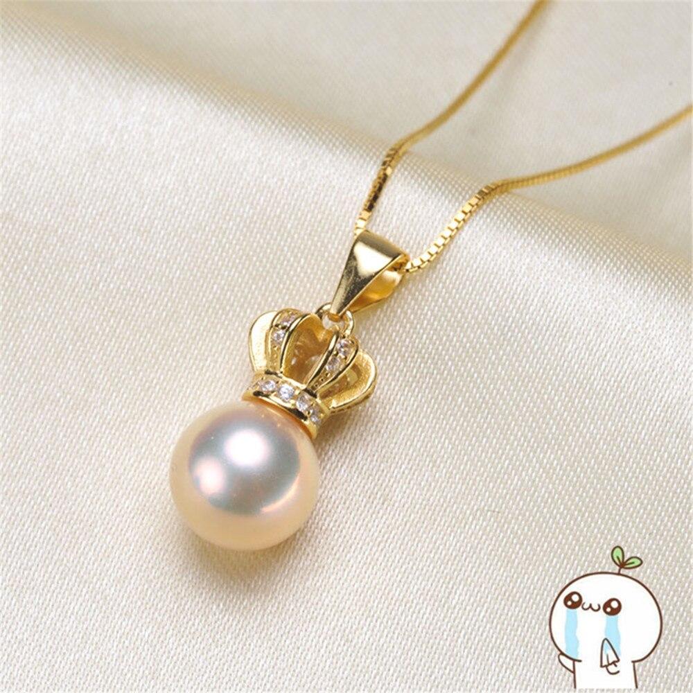 Akoya Oysters Pearls DIY Pearl Pendant Making Gifts Pearl Locket Pendant Jewellery Findings Base Accessories 2019P088