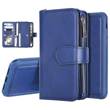 Detachable 2 in 1 Magnetic Leather Case for iPhone XR XS Max X Wallet