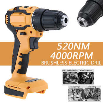 Electric Cordless Impact Drill 10mm Rechargable Electric Screwdriver Drill 18V Battery Electrical Power Tool - DISCOUNT ITEM  30 OFF Tools