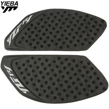 CNC Motorcycle Accessories Carbon Fiber Tank Pad tank Protector Sticker for YAMAHA YZF R1 YZF-R1 YZFR1 2010-2014 2009 цена 2017