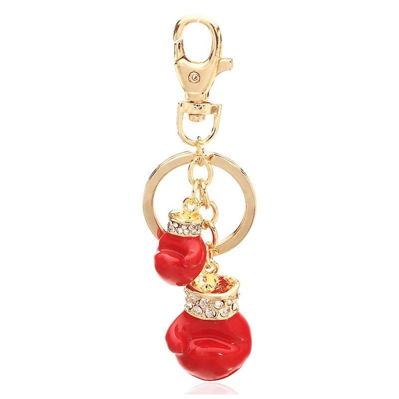 TOGORY, улыбка, мышь, опалы, кристалл, эмаль, сумочка, брелки, брелки для автомобиля, кошелек, сумка, пряжка, брелки, держатель для женщин - Color: KY13