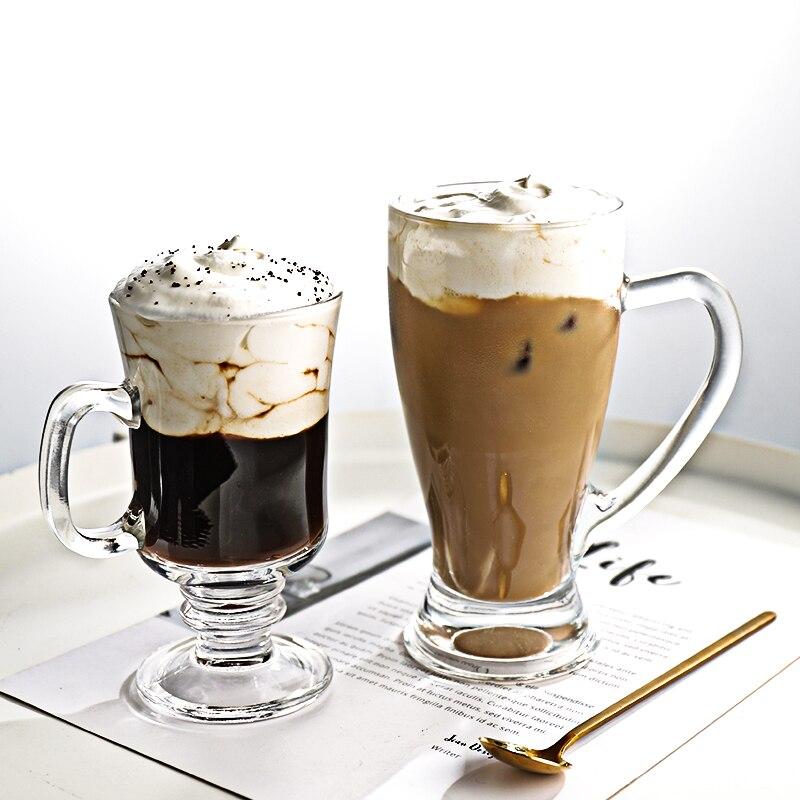 deux verres d'irish coffee