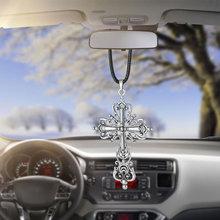 Car Pendant Rearview Mirror Decoration Hanging Archaize Jesu