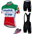 2019 командная футболка QUICKSTEP PRO для велоспорта, 9D гелевые велосипедные шорты, Костюм MTB Ropa Ciclismo, мужская летняя одежда для велоспорта