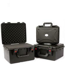 Schutz sicherheit box Toolbox Multifunktions Feuchtigkeit-beweis box Wasserdichte box Ausrüstung Instrument box Stoßfest schwamm