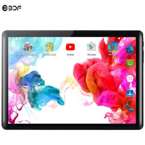 BDF Wifi Tablets Sim-Cards Best-Selling Android Google 10 Brand Play Quad-Core Dual 3G