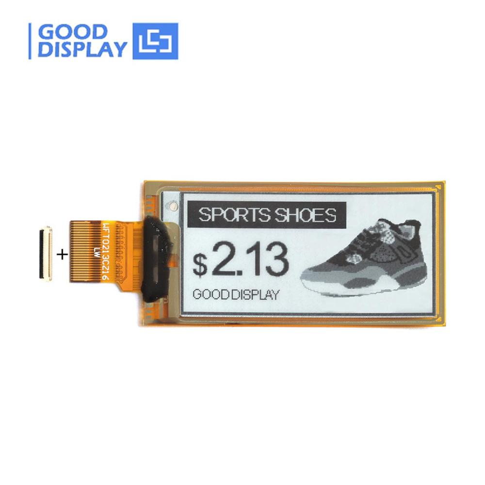 2.13inch E-paper Display 4 Gray Flexible Partial Refresh Eink Display