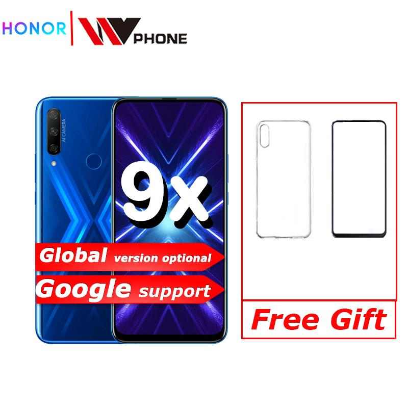 Honor 9x Smart Phone 48MP Triple Cameras 4000mAh 6.59 Inch Full Screen GPU Turbo MobilePhone