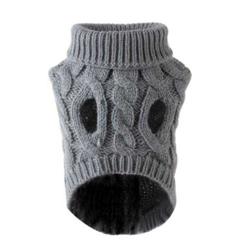 1Pcs Winter Hond Trui Kleine Hond Kleding Puppy Trui Voor Pet Dog Breien Gehaakte Doek Kerst Hond Trui Decoratie