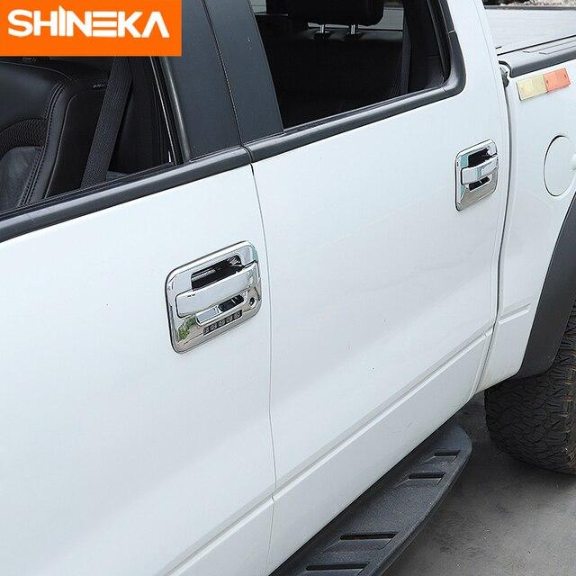 Фото shineka автомобильные наклейки для ford f150 наружная ручка