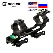 ohhunt Tactical 30mm/25.4mm Riflescope Rings Picatinny Rail Mount Integral Bi-direction Base Ar15 Ak47 Bracket for Hunting Scope