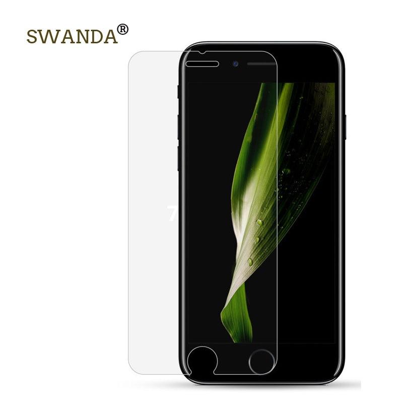 9h pro iphone 5 6 7 8 tvrzené sklo pro iphone 7plus Screen Screen Protector Tvrzené ochranné sklo 2.5D Arc pro iphone X film