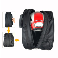 Universal Motorcycle Side Saddlebag Waterproof Motorcycle Side Luggage Saddlebag Tool Bag 2pcs Black