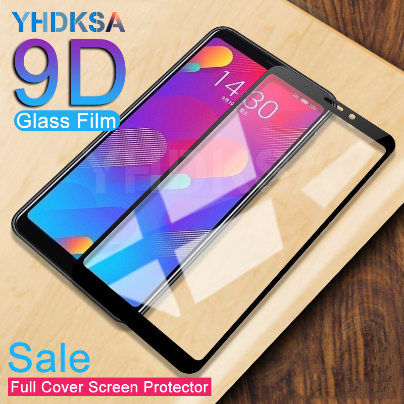 9D Protective Glass On The For Meizu M8 Lite M6 M5 Note M6S M6T M5S M5C V8 Pro Safety Screen Protector Tempered Glass Film Case
