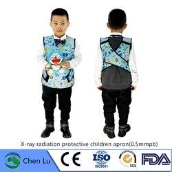 Подлинная рентгеновская гамма-Лучевая Защитная детская Стоматологическая фартук медицинская ионизирующая радиационная защита 0,5 mmpb свинц...