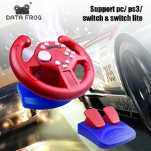 Joysticks-Controller Wheels Data-Frog Racing Nintend Switch-Lite for Remote PC/NS