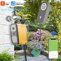 Tuya wifi Watering Timer Irrigation Controller System Intelligent Garden Greenhouse Water Kits for Flowers Plants Bonsai Care