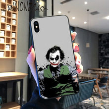Joker Heath Ledger Bow with Patter Novelty Fundas Phone Case Cover For iPhone 8 7 6 6S Plus X XS MAX 5 5S SE XR 11 11pro promax muslim islamic gril eyes novelty fundas phone case for iphone 8 7 6 6s plus x xs max 5 5s se xr 11 11pro promax cover