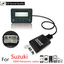 Yatour USB SD AUX Auto MP3 Lettore CD di Musica Radio CD Changer Adapte Per OEM Panasonic Radio Suzuki Grand Vitara liana Swift Splash