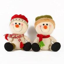 New Christmas Doll Plush Toy Children Gift Santa Claus Decoration Cute Home Decor Stuffed Animals Elf on The Shelf