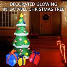 21 м светодиодсветодиодный надувная уличная светящаяся Рождественская