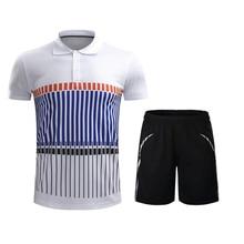 Рубашки для бадминтона и шорты для бадминтона для мужчин и женщин Волан Джерси для настольного тенниса тренировочные костюмы с коротким рукавом спортивный костюм спортивная одежда