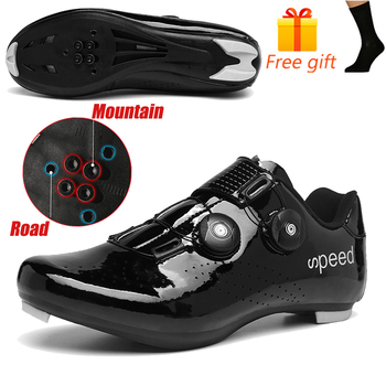 Discolor Cycling Shoes Man MTB Mountain Bike Shoes SPD Cleats Road Bicycle Shoes Sports Outdoor Training Cycle Sneakers 10