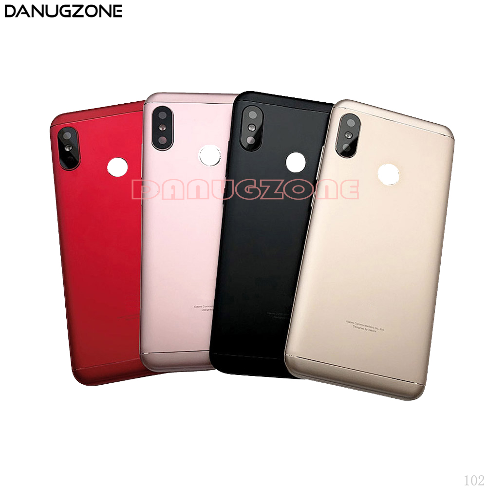 Rear Housing <font><b>Cover</b></font> For <font><b>Xiaomi</b></font> Redmi 6 PRO 6Pro / <font><b>Mi</b></font> <font><b>A2</b></font> Lite <font><b>Battery</b></font> Back <font><b>Cover</b></font> Housing <font><b>Battery</b></font> <font><b>cover</b></font> image