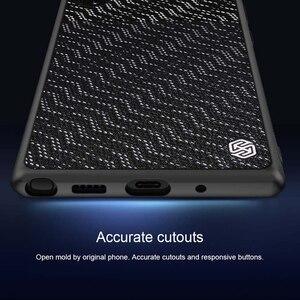 Image 4 - Nillkin funda de silicona para Samsung Galaxy Note 10 Plus, carcasa híbrida de plástico texturizado con gradiente brillante para Samsung Galaxy Note 10