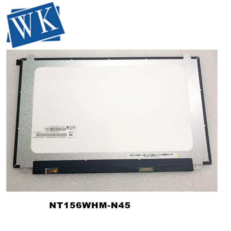 For BOE NT156WHM N45 V8.0 V8.1 V8.2 350MM Fru 5D10M42874 NT156WHM N45  30Pin HD 1366X768 LCD Display Replacement