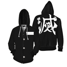 Аниме «Demon Slayer Kimetsu No Yaiba Tanjiro Kamado Nezuko»; костюм для косплея; 3D толстовки; куртки; костюм на Хэллоуин для женщин; CS034
