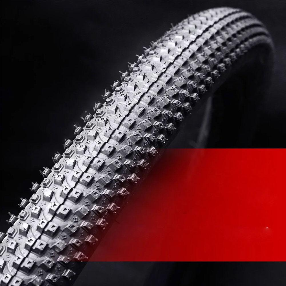 26 Inch Bicycle Tires On For MTB Road Bike Tires 20/24/26/<font><b>27.5</b></font>*<font><b>1.5</b></font>/1.95 Inch Ribber Outer Tires Anti Puncture Cycling Parts image