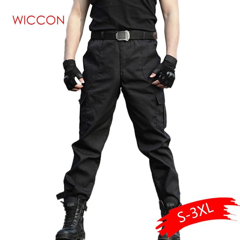 2020 Men Military Tactical Cargo Pants Men Army Tactical Sweatpants High Quality Black Working Men Pant Clothing Pant