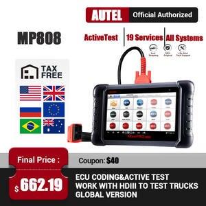 Car-Diagnostic-Tool Maxidas Automotive-Scanner Test-Obd DS808 MP808 Full-System Autel