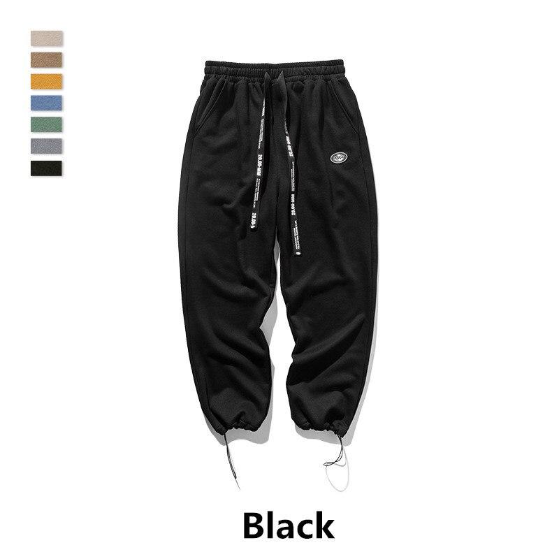 Women men long pants hip hop streetwear kanye west cotton jogger biker casual Solid color sweatpants trousers pencil pants in Skinny Pants from Men 39 s Clothing