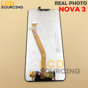"""Image 4 - 100% ORIGINAL6.3 """"LCD ekran için Huawei Nova 3/Nova 3i PAR LX1 INE LX2 LCD Ekran dokunmatik panel sayısallaştırıcı Meclisi + Çerçeve"""
