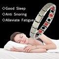 Магнитный турмалиновый браслет унисекс, браслет с биоэнергией для сна, ювелирные изделия для улучшения здоровья, браслеты из германиевого ...