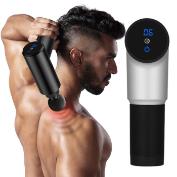 2100-3300r/min Electric Muscle Massage Gun Deep Tissue Massager Therapy Gun Exercising Muscle Pain Relief Body Shaping Machine 1