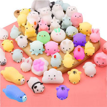 Hot Mochi Squishy Toys with Cute Bag Stress Toy Reward Toys for Kids Kawaii moj moj Adult Venting Child Gift